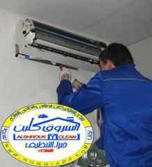 شركة تنظيف مكيفات شباك شمال الرياض